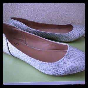 Mix No. 6 Ballet Flats Silver